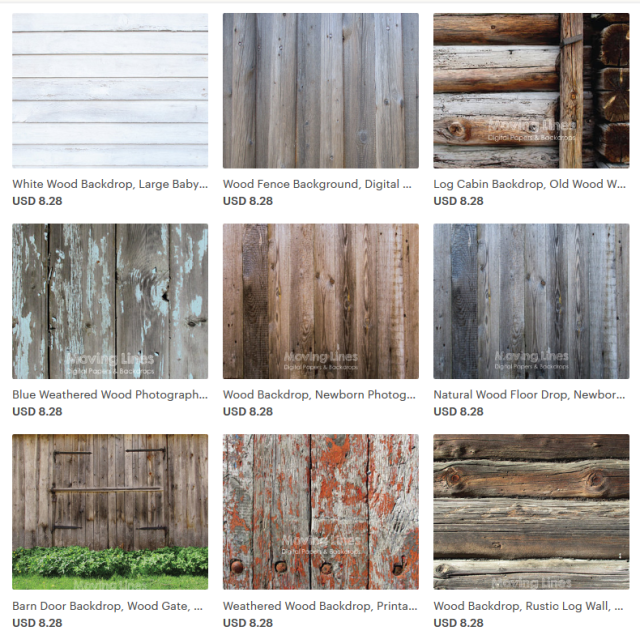 Printable Backdrops for Photographers by MovingLines